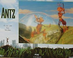 ANTZ - 11x14 US Lobby Cards Set - Sylvester Stallone, Sharon Stone - ANIMATION
