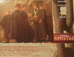 AMISTAD - 11x14 US Lobby Cards Set - Anthony Hopkins, Steven Spielberg