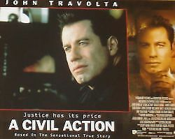 A CIVIL ACTION - 11x14 US Lobby Cards Set - John Travolta, Robert Duvall