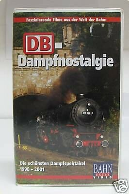 Bahn Extra Video DB-Dampfnostalgie VHS