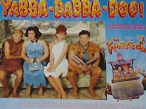 THE FLINTSTONES - 11x14 US Lobby Cards Set - John Goodman, Rick Moranis
