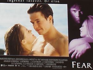 FEAR - 11x14 US Lobby Cards Set - Reese Witherspoon, Mark Wahlberg
