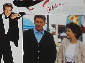 SABRINA - 11x14 US Lobby Cards Set - Harrison Ford, Julia Ormond