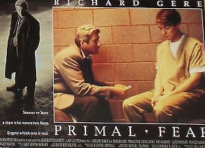 PRIMAL FEAR - 11x14 US Lobby Cards Set - Richard Gere, Edward Norton