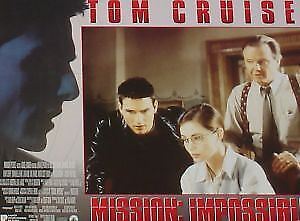 MISSION: IMPOSSIBLE - 11x14 US Lobby Cards Set - Tom Cruise, Emmanuelle Beart