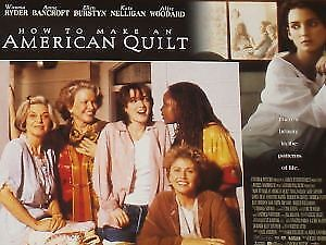 HOW TO MAKE AN AMERICAN QUILT - 11x14 US Lobby Cards Set - Winona Ryder