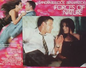 FORCES OF NATURE - 11x14 US Lobby Cards Set - Sandra Bullock, Ben Affleck