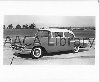 Factory Photo 1957 Chevrolet Two Ten Sport Coupe Ref. # 31532