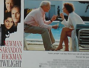 TWILIGHT - 11x14 US Lobby Cards Set - Paul Newman, Susan Sarandon