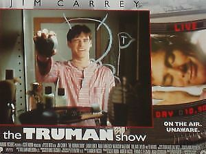 THE TRUMAN SHOW - 11x14 US Lobby Cards Set - Jim Carrey, Laura Linney