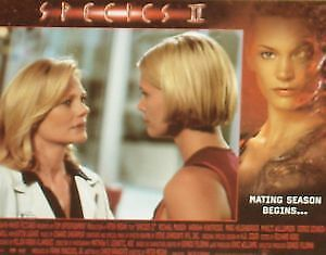 SPECIES II 2 - 11x14 US Lobby Cards Set - Natasha Henstridge - HORROR