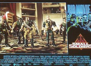 SMALL SOLDIERS - 11x14 US Lobby Cards Set - Joe Dante, Kirsten Dunst