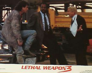 LETHAL WEAPON 3 - 11x14 US Lobby Cards Set - Mel Gibson, Rene Russo