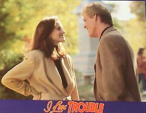 I LOVE TROUBLE - 11x14 US Lobby Cards Set - Julia Roberts, Nick Nolte