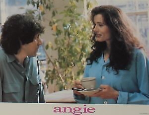 ANGIE - 11x14 US Lobby Cards Set - Geena Davis, James Gandolfini