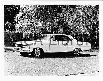 1967 Chevrolet Chevy II Nova SS Coupe, golf course, Factory Photo (Ref. # 31742)