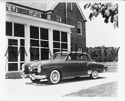 Ref. #91404 1950 Studebaker Champion Convertible Coupe Factory Photo