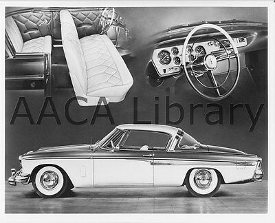 1955 Studebaker Speedster at proving grounds, Factory Photo (Ref. #91569)