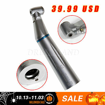 Dental Fiber Optic LED E-generator Contra Angle Low Speed Handpiece fit KAVO USA