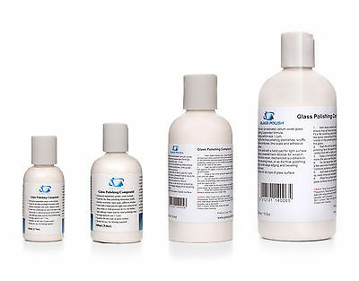 Glass Polishing Compound, Glass Polishing Solution, Glass Restoration Compound
