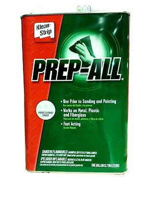 Wax and Grease Remover Paint Prep Klean Strip Prep-All 1 Gallon GSW362