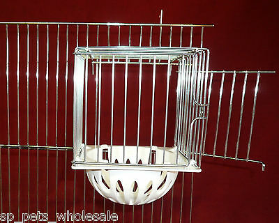 New Wire External Nest Pan/Cage/Box Suitable For Canarys