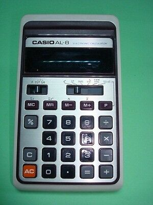 Calculadora - Calculator. Casio Al-8.  Cod$*26A -