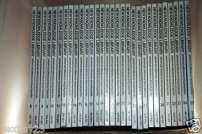 New Knowlege Library - Universal Reference Encyclopedia - 35 Volumes - Like New