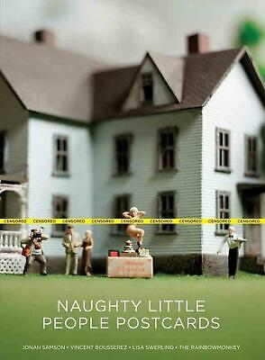 Naughty Little People Postcards by Magma Magma (English) Paperback Book Free Shi