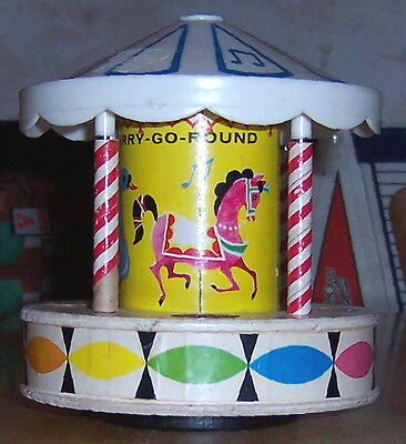 Fisher-Price Musical Merry-Go-Round; 1963