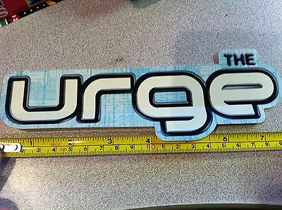 THE URGE Too Much Stereo Promo Sticker