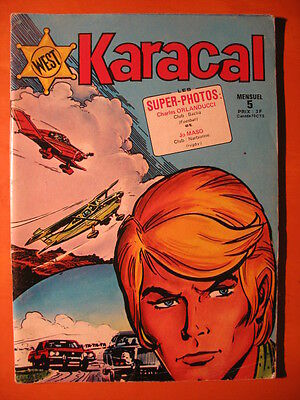 West Karacal - numéro 5 - de 1976 - Sagédition