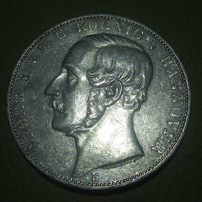 "Thaler 1865 George V ""Waterloo"" Commemorative  Silver Scarce  (GH3)"