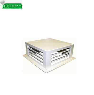 """White Powder Coated Diffusers 12""""x12"""""""
