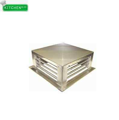 "Stainless Steel Diffusers 12""x12"""