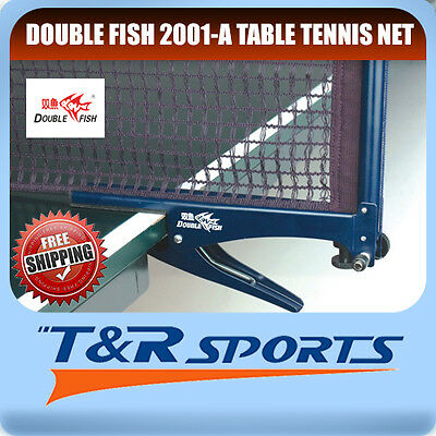 DF 2001-A Table Tennis Ping Pong Clamp Net & Post Set RRP $29 Free Delivery