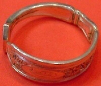 Saint Dunstan Chased by Gorham Sterling Silver Napkin Ring 1 3/4""