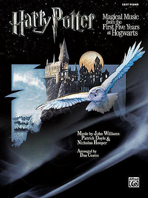 Harry Potter Magical Music First 5 Years At Hogwarts Easy Piano *NEW* Music Book