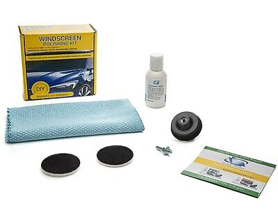 Windscreen Polishing Kit, Wiper Blade Damage Remover, Glass Polishing kit -50mm