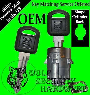 Chevy OEM Door Key Lock Cylinder * IN STOCK * Key Matching Service Offered *