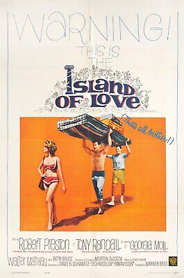 Island of Love 1963 U.S. One Sheet Poster