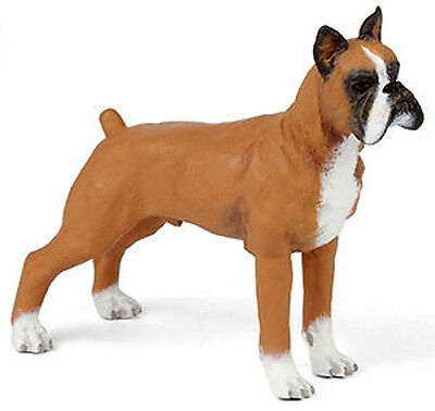 NEW PAPO 54019 Male Boxer Dog Model - RETIRED