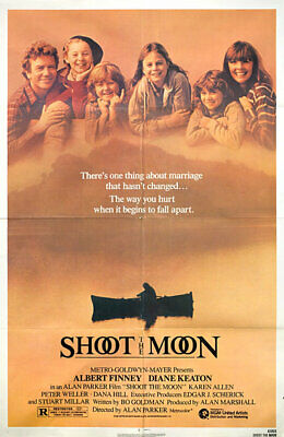Shoot the Moon 1982 U.S. One Sheet Poster