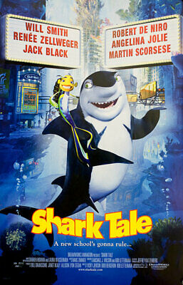 Shark Tale 2004 U.S. Mini Poster