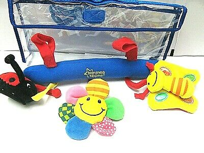 New Tommee Tippee Explora Easy To Attach Travel Fun Rattle Toy Unisex  Bpa Free