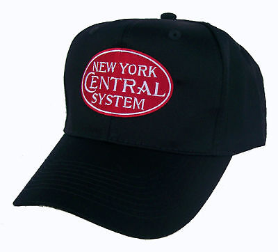 New York Central Railroad Embroidered Cap Hat #40-0029