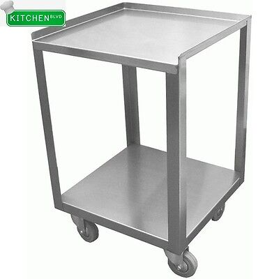 "Stainless Steel Donut Cart 15""W x 15""L"