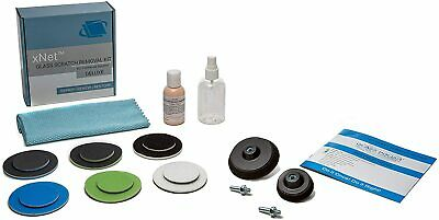 DIY Glass Scratch Repair DELUXE Kit, Scratched Glass Repair, Polishing Glass Kit