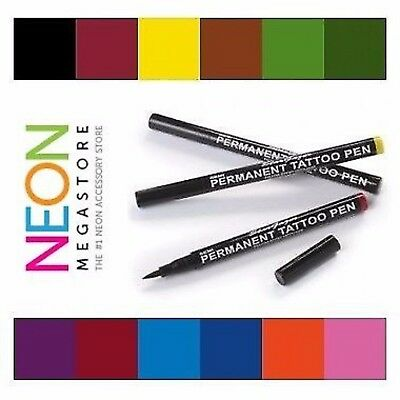 Stargazer Semi Permanent Body Tattoo Pen - 12 Colours Available + Correction Pen