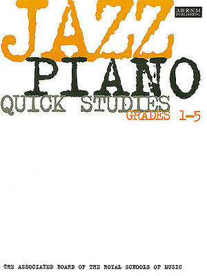 ABRSM Jazz Piano Quick Studies Grades 1-5, Sheet Music, English - 9781860960093